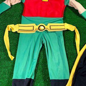 DC Comics Costumes - DC Comic Kids Robin Cosplay Costume Size S EUC
